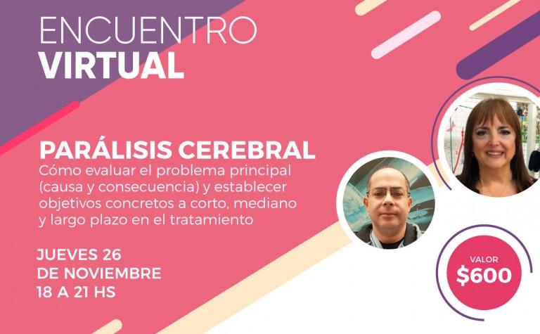 26/11 – Encuentro online: Parálisis Cerebral