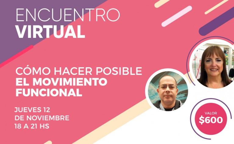 12/11 – Encuentro online: Cómo hacer posible el movimiento funcional